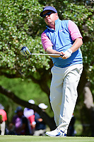 Carl Pettersson (SWE) watches his tee shot on 2 during round 4 of the Valero Texas Open, AT&amp;T Oaks Course, TPC San Antonio, San Antonio, Texas, USA. 4/23/2017.<br /> Picture: Golffile | Ken Murray<br /> <br /> <br /> All photo usage must carry mandatory copyright credit (&copy; Golffile | Ken Murray)