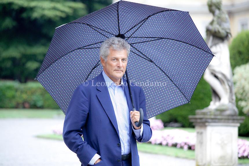Alain Elkann, italian writer, Parolario a Como, Villa Olmo, 2011.  © Leonardo Cendamo
