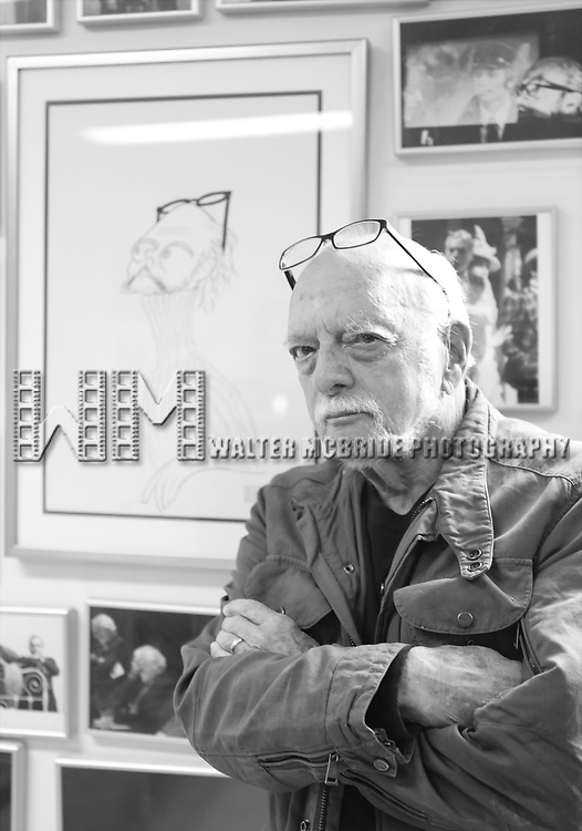 Hal Prince in his office on July 30, 2015 in New York City.