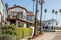 Ocean View Homes on Fernleaf Ave in Corona Del Mar California