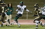 Torrance, CA 11/22/13 - Edward Mitchell (Palmdale #11) in action during the Palmdale-West Torrance CIF Northern Division quarterfinal game.  West Torrance defeated Palmdale 17-14.