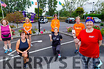 The runners who crossed the finish line of their 10 miles in 10 days challenge fund raiser for Pieta House in memory of Conor Cusack at the Rose Hotel on Saturday.<br /> Front right: Gemma O'Shea.<br /> Kneeling: Noreen O'Leary and Joesphine O'Shea. <br /> Standing: Mary Holly, Brenda Lynch, Hilda Jones and Kathleen Curtin.