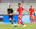 27.06.2020, Stadion an der Wuhlheide, Berlin, GER, DFL, 1.FBL, 1.FC UNION BERLIN  VS. Fortuna Duesseldorf , <br /> DFL  regulations prohibit any use of photographs as image sequences and/or quasi-video<br /> im Bild  Christian Gentner (1.FC Union Berlin #34), Kevin Stoeger (Fortuna Duesseldorf #22)<br /> <br /> <br />      <br /> Foto © nordphoto / Engler