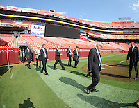 USA Bid Committee for the 2018 or 2022 FIFA World Cup at FedEx Field , Wednesday  September 8, 2010.