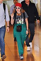 Millie Bobby Brown bei der Ankunft auf dem Tokyo International Airport. Tokio, 15.05.2019