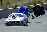 Jul, 22, 2012; Morrison, CO, USA: NHRA pro stock driver Larry Morgan during the Mile High Nationals at Bandimere Speedway. Mandatory Credit: Mark J. Rebilas-