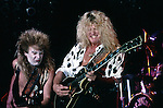Blue Murder -Tony Franklin,  John Sykes Tony Franklin in costume for Halloween.