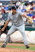 Seattle RHP Sean Green in action against the Royals at Kauffman Stadium in Kansas City, Missouri on May 27, 2007.  The Mariners won 7-4.