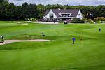 ZOETERMEER - Green hole en en 18 met clubhuis.BurgGolf Westerpark.  COPYRIGHT  KOEN SUYK
