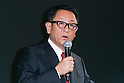 Akio Toyoda President of Toyota Motor Corporation speaks during a news conference on November 6, 2015, Tokyo, Japan. President Toyoda announced that Toyota would start a new company Toyota Research Institute (TRI) in Silicon Valley, USA, which will focus on Artificial Intelligence and robotics. Dr. Gill will be the Chief Executive Officer of the new company which will begin operations in January 2016. (Photo by Rodrigo Reyes Marin/AFLO)