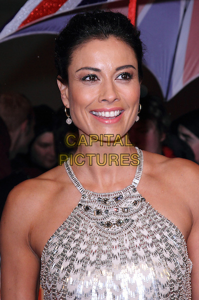 Melanie Sykes.The Pride of Britain Awards 2012, Grosvenor House Hotel, Park Lane, London, England..October 29th, 2012.headshot portrait silver sleeveless   .CAP/ROS.©Steve Ross/Capital Pictures