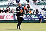 04 April 2015: Carolina head coach Colin Clarke (NIR). The Carolina RailHawks hosted the Ottawa Fury FC at WakeMed Stadium in Cary, North Carolina in a North American Soccer League 2015 Spring Season match. Carolina won the game 3-1.