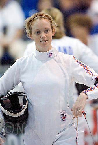 31 MAY 2008 - BUDAPEST, HUN - Katy Livingston (GBR) - Modern Pentathlon World Championships. (PHOTO (C) NIGEL FARROW)
