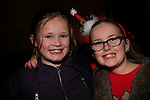 Aine Judge and Sive Price at the Boyne Ac Christmas Party<br /> Picture: Fran Caffrey www.newsfile.ie