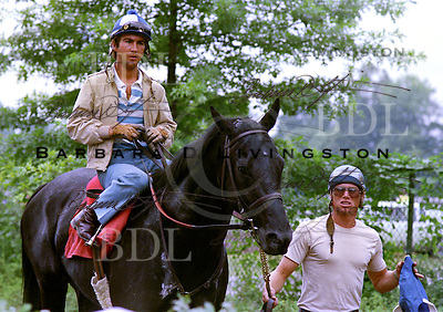 Play Fellow (On the Sly), 1983 Travers winner, Jerry Bailey up