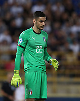 Football: Uefa European under 21 Championship 2019, Italy - Spain Renato Dall'Ara stadium Bologna Italy on June16, 2019.<br /> Italy's goalkeeper Alex Meret looks on during the Uefa European under 21 Championship 2019 football match between Italy and Spain at Renato Dall'Ara stadium in Bologna, Italy on June16, 2019.<br /> UPDATE IMAGES PRESS/Isabella Bonotto