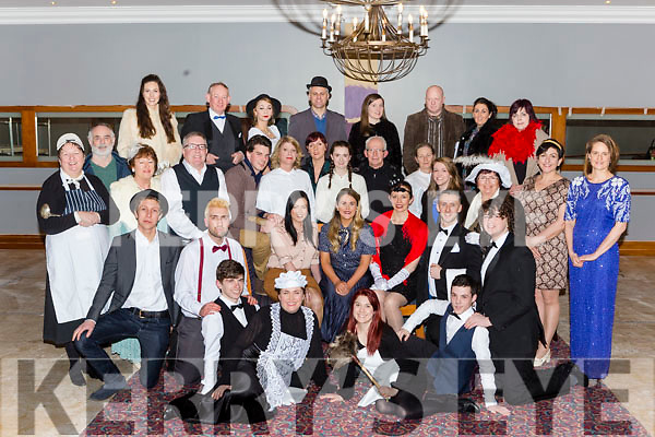 The Cast from the the new Killarney Musical Society musical Me and My Girl