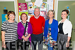 L-R Mary O'Shea from Castlemaine, Mary and Sean Roche from Castlemaine, Cathrine Mc Grath from Killorglin and Aishling O'Dwyer from Killarney at the Annual Awards night in the Killorglin Community College last Thursday night.