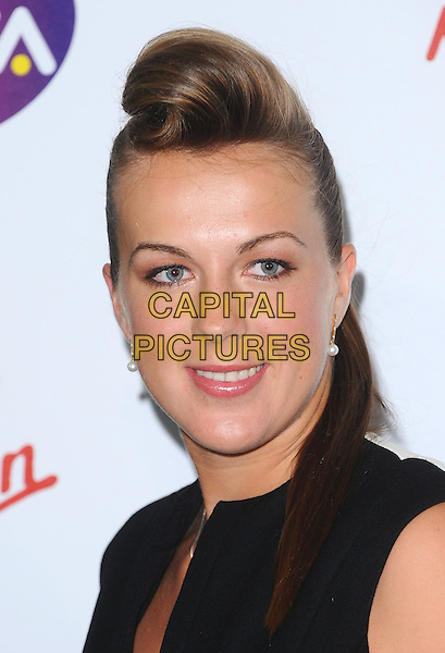 Anastasia Pavlyuchenkova .The WTA Tour Pre-Wimbledon Party, The Roof Gardens, Kensington, London, England..16th June 2011.headshot portrait hair coif black  .CAP/BEL.©Tom Belcher/Capital Pictures.