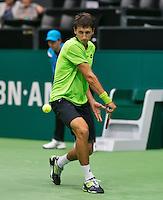 10-02-14, Netherlands,Rotterdam,Ahoy, ABNAMROWTT,,Sergiy Stakhovsky(UKR)<br /> Photo:Tennisimages/Henk Koster