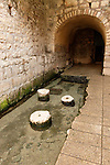 Jerusalem, Israel, The City of David, the Pool of Siloam dates from 5th century Byzantine period<br />