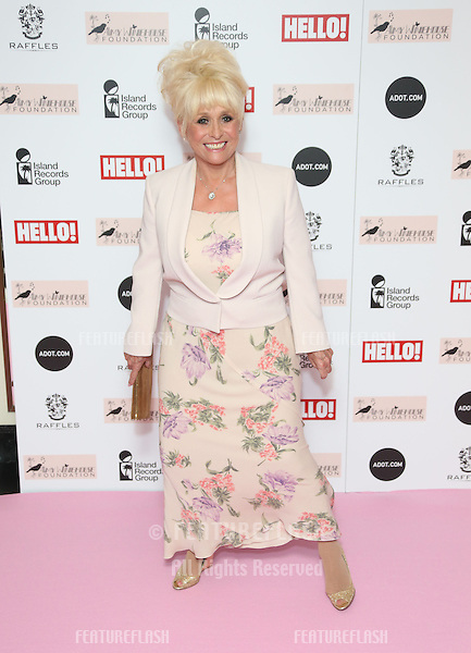Barbara Windsor arriving at the The Amy Winehouse foundation ball held at the Dorchester hotel, London. 20/11/2012 Picture by: Henry Harris / Featureflash