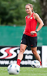 15.06.2011, Steinbergstadion, Leogang, AUT, FIFA WOMENS WORLDCUP 2011, PREPERATION, USA, im Bild Christie Rampone, (USA, #3) während eines Trainings zur Vorbereitung auf die FIFA Damen Fussball Weltmeisterschaft 2011 in Deutschland // during a Trainingssession for the FIFA Women´s Worldcup 2011 in Germany, on 2011/06/15, Steinberg Stadium, Leogang, Austria, EXPA Pictures © 2011, PhotoCredit: EXPA/ J. Feichter