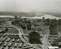 1965 December 27..Redevelopment.Downtown North (R-8)..Aerial view south..VU Photos.NEG# 1-958.NRHA# 2035..