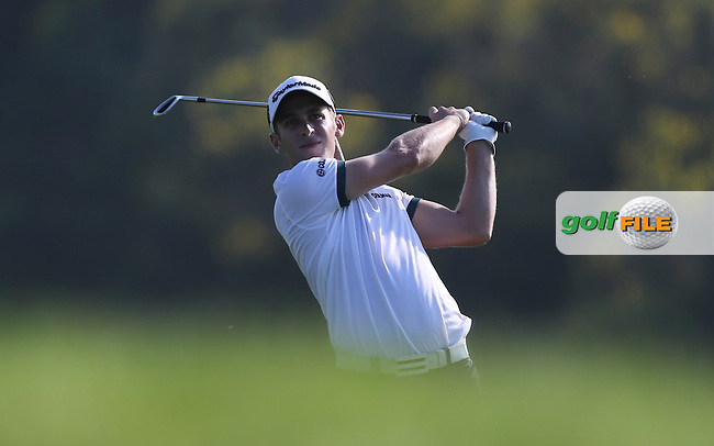 Lorenzo Gagli (ITA) during Round 3 of the Alstom Open de France, at Le Golf National, Versailles, Paris, France. Picture: David Lloyd/www.golffile.ie