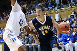 04 November 2016: Augustana's Adam Beyer (11) and Duke's Matt Jones (13), The Duke University Blue Devils hosted the Augustana University Vikings at Cameron Indoor Stadium in Durham, North Carolina in a 2016-17 NCAA Division I Men's Basketball exhibition game.