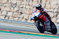 Jorge Lorenzo (Ducati Team) in action during  Gran Prix Movistar the Aragón. 22-09-2018  September 22, 2018.