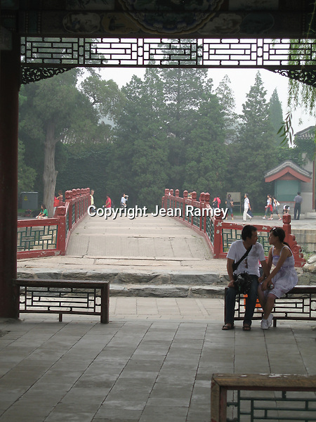 A quiet moment at the Summer Palace, Beijing, China