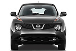 Straight Front View 2011 Nissan Juke SV SUV Stock Photo