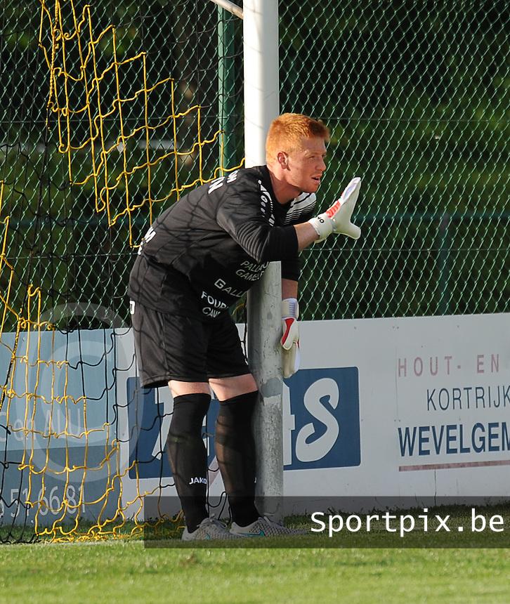 KSCT Menen - Winkel Sport :<br /> <br /> KSCT Menen :  Dylan Olievier<br /> <br /> foto VDB / BART VANDENBROUCKE