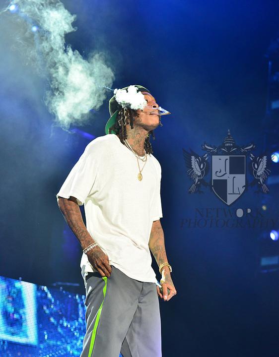 Wiz Khalifa  Dazed  amp  Blazed  tour Concert at Coral Sky ... c6208e2ef