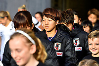 Japan&rsquo;s Mina Tanaka, International Football - Football Ferns v Japan  at Westpac Stadium, Wellington, New Zealand on Sunday 10 June 2018.<br />