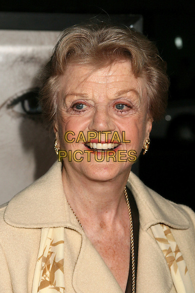 "ANGELA LANSBURY.Los Angeles Premiere of ""The Queen"", Beverly Hills, California, USA..October 3rd, 2006.Ref: ADM/BP.headshot portrait.www.capitalpictures.com.sales@capitalpictures.com.©Byron Purvis/AdMedia/Capital Pictures."