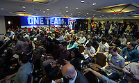 New York, NY - Friday, May 30, 2014: USMNT media day in New York City.