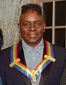 Singer Philip Bailey of the band Earth, Wind and Fire, one of the recipients of the 42nd Annual Kennedy Center Honors, poses as part of a group photo following a dinner at the United States Department of State in Washington, D.C. on Saturday, December 7, 2019.  The 2019 honorees are: Earth, Wind & Fire, Sally Field, Linda Ronstadt, Sesame Street, and Michael Tilson Thomas.<br />