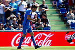 Getafe CF's Jaime Mata celebrates goal during La Liga match. May 05,2019. (ALTERPHOTOS/Alconada)