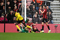 Abdoulaye Doucoure of Watford left scores the first goal and celebrates during AFC Bournemouth vs Watford, Premier League Football at the Vitality Stadium on 12th January 2020
