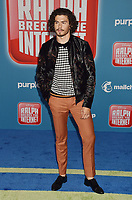 HOLLYWOOD, CA - NOVEMBER 05: Tommy Martinez attends the Premiere Of Disney's 'Ralph Breaks The Internet' at the El Capitan Theatre on November 5, 2018 in Los Angeles, California.<br /> CAP/ROT/TM<br /> &copy;TM/ROT/Capital Pictures