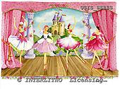 Ingrid, CHILDREN, KINDER, NIÑOS, paintings+++++,USISSS88S,#K#,ballet ,vintage