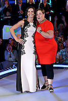 White Dee, Deirdre Kelly, Edele Lynch at The Celebrity Big Brother final<br /> Borehamwood. 12/09/2014 Picture by: James Smith / Featureflash