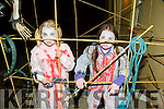 Pictured at the Halloween Festival in Knocknagoshel on Sunday night were Niamh Tugwell and Emma Keane