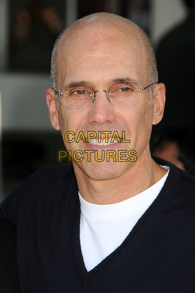 Jeffrey Katzenberg.The L.A. Premiere of 'Puss in Boots' held at The Regency Village Theatre in Westwood, California, USA..October 23rd, 2011.headshot portrait black glasses .CAP/ADM/BP.©Byron Purvis/AdMedia/Capital Pictures.