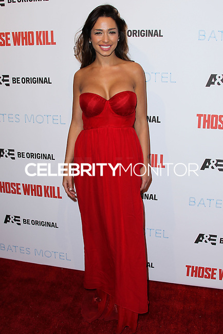 """HOLLYWOOD, LOS ANGELES, CA, USA - FEBRUARY 26: Sofia Valleri at the Premiere Party For A&E's Season 2 Of """"Bates Motel"""" & Series Premiere Of """"Those Who Kill"""" held at Warwick on February 26, 2014 in Hollywood, Los Angeles, California, United States. (Photo by Xavier Collin/Celebrity Monitor)"""