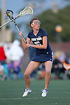 Santa Barbara, CA 02/18/12 - Olivia Cook (BYU #16) in action during the Arizona State vs BYU matchup at the 2012 Santa Barbara Shootout.  BYU defeated Arizona State 10-8.