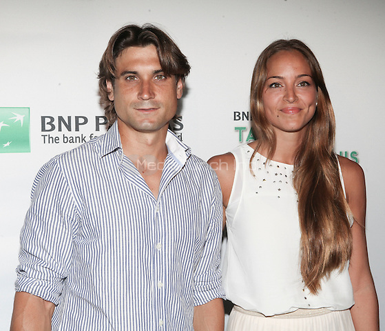 Tennis player David Ferrer attends the 13th Annual 'BNP Paribas Taste of Tennis' at the W New York.  New York City, August 23, 2012. © Diego Corredor/MediaPunch Inc.