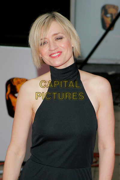 ANNE-MARIE DUFF.Red Carpet Arrivals at The British Academy Television Awards (BAFTA's) Sponsored by Pioneer, held at the London Palladium, London, England, May 20th 2007. .half length black dress anne anne marie halterneck dress.CAP/AH.©Adam Houghton/Capital Pictures.